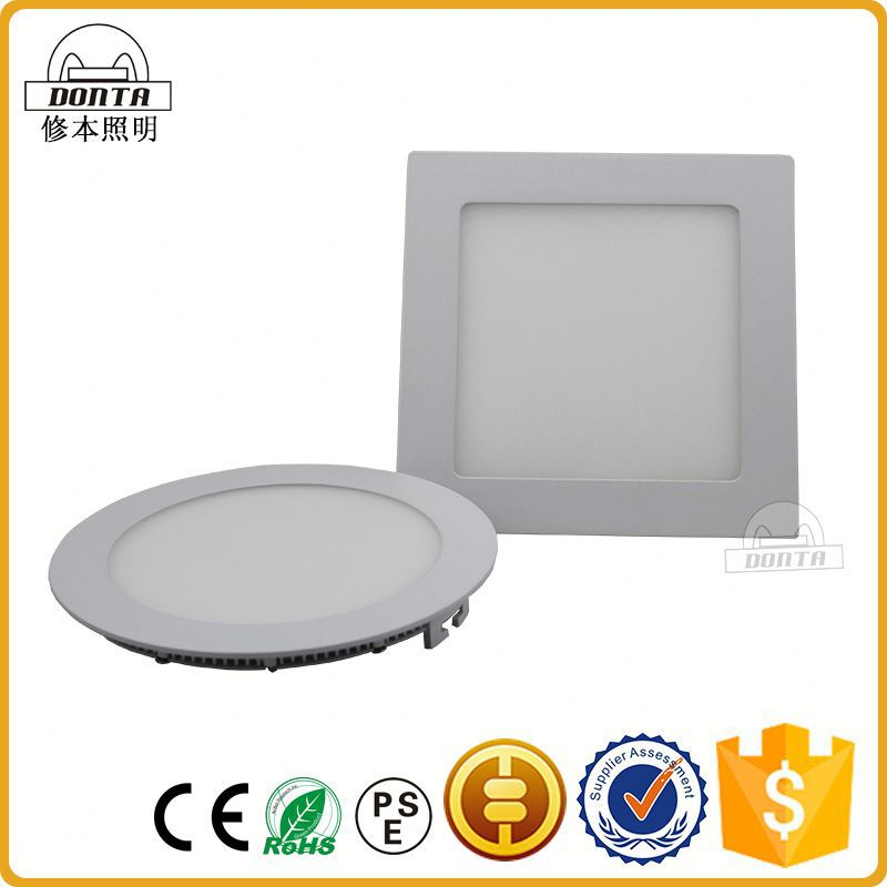 2016 hot sale outdoor ip65 ultra-thin led recessed ceiling panel light