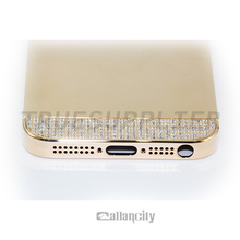 2015 hot selling golden case for iPhone 5 5s gold plated housing for iPhone 5s gold body