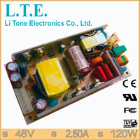 LTE120FS-S5 hot selling/48V 2.5A 120W/ Output AC DC/open frame Power Supply