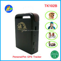 Mini Personal Human GPS Tracker TK102bminiature Portable GPS tracking devices