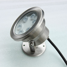 6w warm whtie multicolor 24v 12v a ring led fountain light ip68 fountain lamp water jet led fountain light