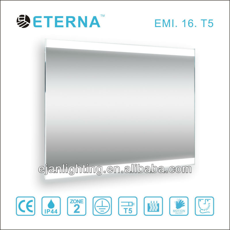 China Guang Dong T5 illuminated mirrors for bathrooms
