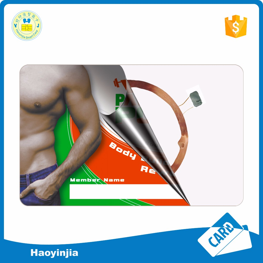 China factory high quality pvc rfid chip card memory Id card