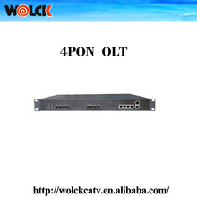 Best sell product GEPON 4PON OLT with Cortina chipset