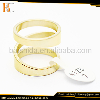 fancy gold ring designs fake industrial piercing jewelry wedding anniversary engagement