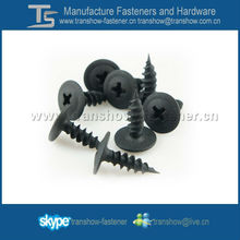 Black Phosphated Wafer Head Self Tapping Screws