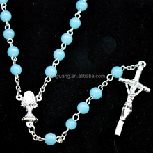 Newest High Quality Catholic Rosary With Nails Cross necklace