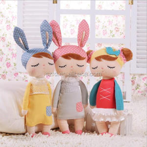 High Quality cute plush toys/beautiful plush rag doll /OEM Metoo angela doll