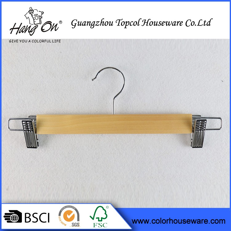 Customized LOGO Luxury Fashion Antique Wooden Hangers