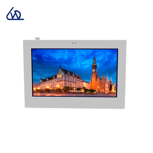 China factory customized 49 inch outdoor touch screen video mounted wall for advertising