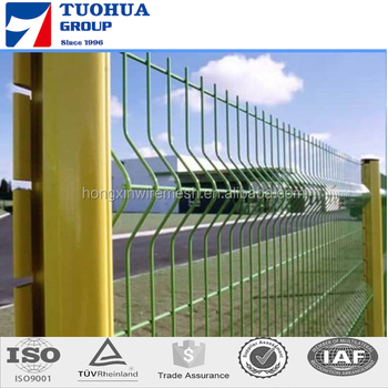 PVC Coated Triangle Welded Fence with Competitive Price