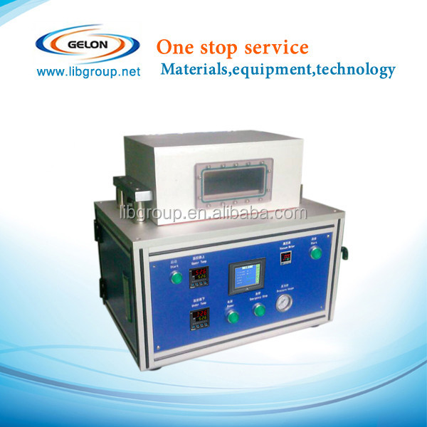 Vacuum 2nd sealing machine after injecting and formation for lithium battery