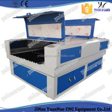 YNL1318 cnc laser cutting machine with back open for wood / acrylic / MDF / rubber / fabric / leather