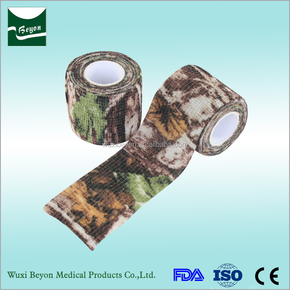 Fashion popular best price air breathable high quality colorful medical vet wrap