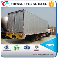 Dongfeng 4x2 Right Hand Drive Ice Cream Fresh Meat Fruit Fish Vegetable Transport Vehicle Refrigerator Freezer Truck