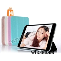 High Fashion KLD Iceland Series Tri-fold Sleep Wake up Function Flip Leather Case for iPad Mini 2 Retina Case