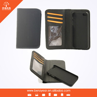 removable shell case wallet for iphone 6 phone cover
