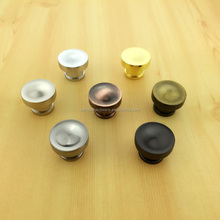 round antique brass furniture hardware zinc cabinet knobs