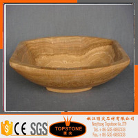 China manufacturer Excellent Quality Marble and Granite Above Counter golden colour Kitchen Sinks