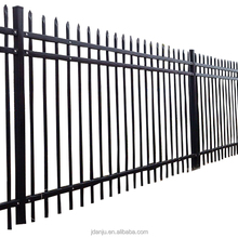 Exterior metal easy installation residential steel fence panel