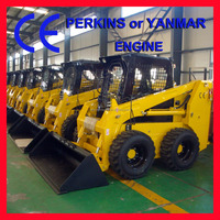 Chinese famous JC75 Skid steer Loader with attachments