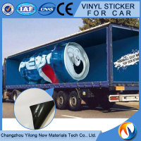 Self-adhesive vinyl film car body gold brushed sticker, vinyl wrap with air channel