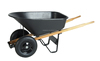 wooden handle agriculture garden wheelbarrow handle grip WB9600