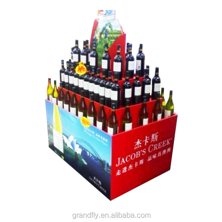 Hot Style Corrugated Cardboard festival display stand