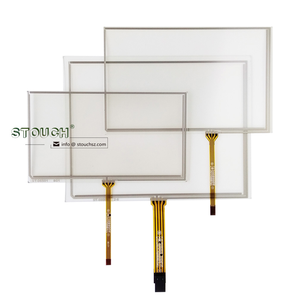 original manufacturer touch screen panel 6.2 inch 4 wire resistive touch screen