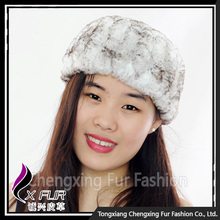 CX-E-37X Hot Selling Promotional Indian Knitted Rex Rabbit Fur <strong>Headband</strong>