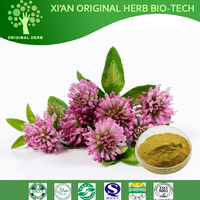 100% natural Red Clover Extract / Isoflavones Red Clover Extract/Trifolium Pratense L