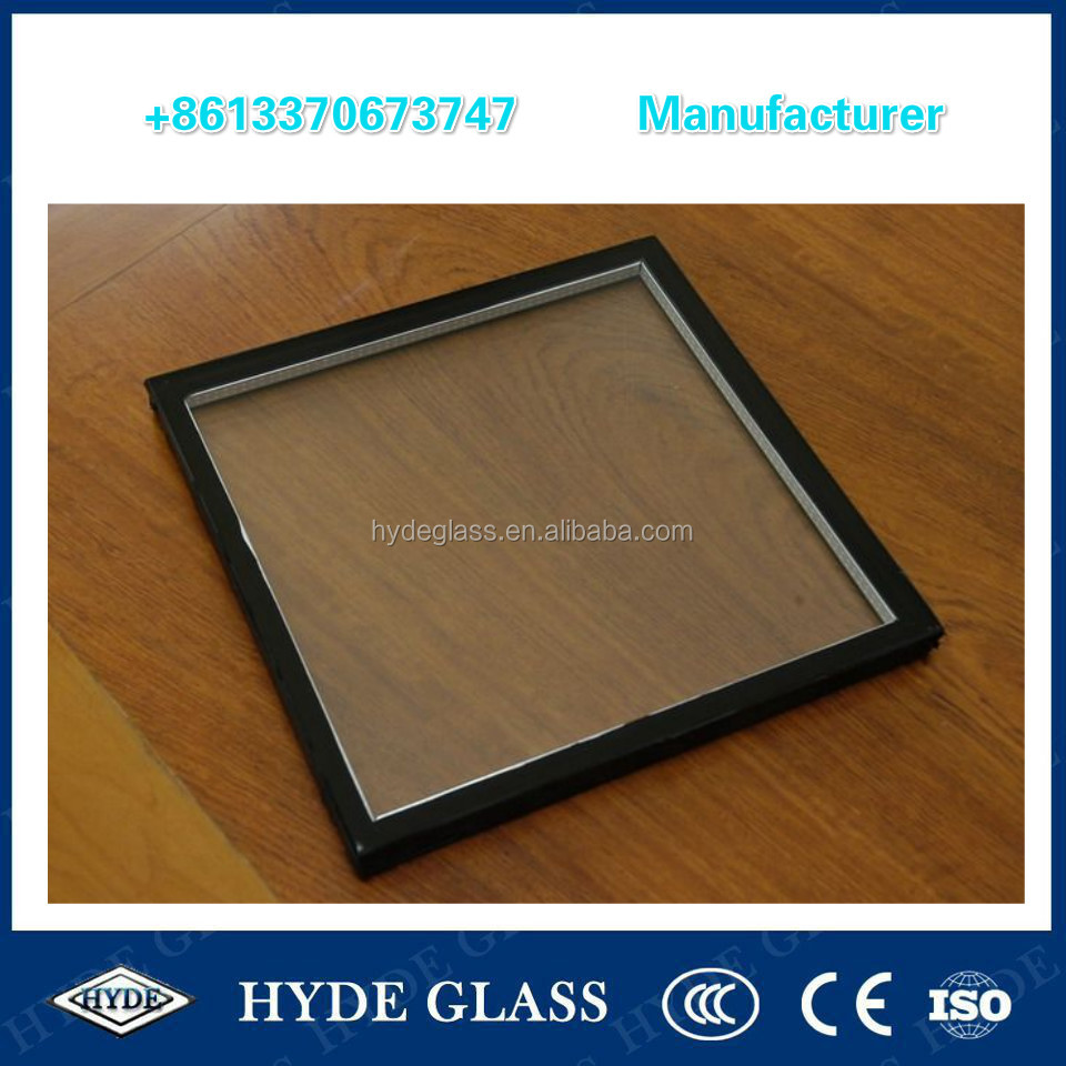 China hot sale double glazing glass low-e insulated glass IGU building glass