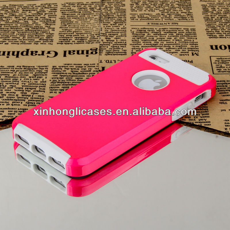 New arrival Deluxe For iPhone 5 case, Rugged Rubber Protective Matte Hard Case Cover For iPhone