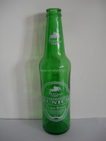 GREEN 750ML GLASS BEER BOTTLE FOR POPULAR GINGER ALE WITH HONEY FLAVOR