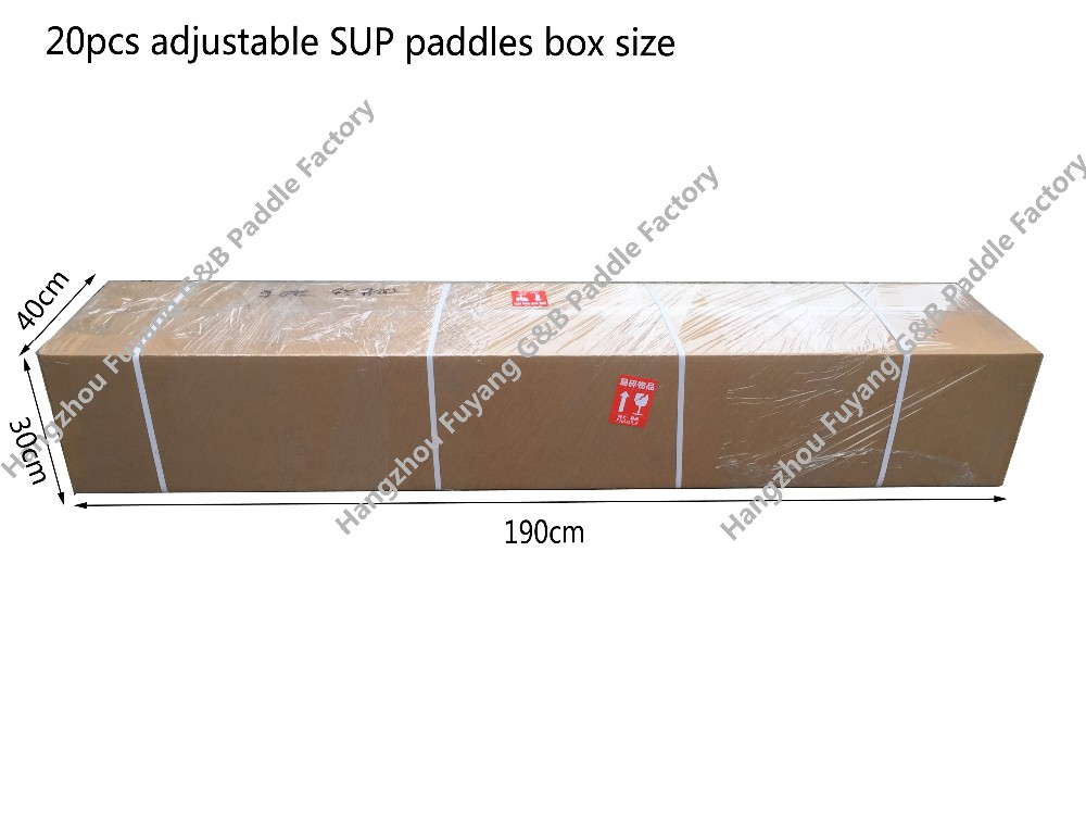 0401-84-3P 3 piece adjustable inflatable sup stand up paddle board sup paddle