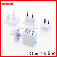 2014 HOT SELLING new! 5v usb wall charger 1a for smartphone