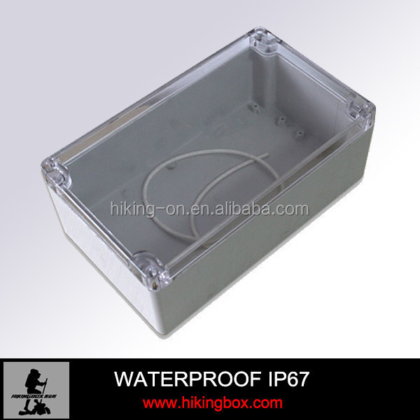 pcb waterproof ip65 plastic enclosure,ip67 aluminum waterproof enclosure,electrical plastic ip65 waterproof enclosure HIKINGBOX