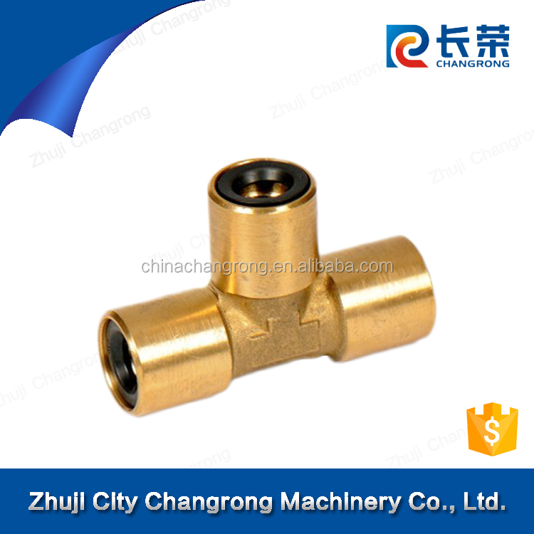 Elbow camozzi copper fitting for tube