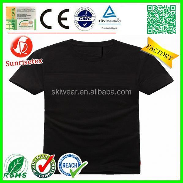 New design Cheap printing organic bamboo t shirts Factory