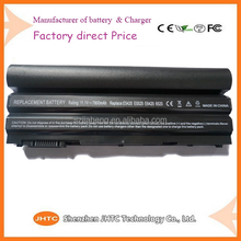 Factory price high capacity laptop battery for DELL Latitude E5420/ E5520/ E6120 Inspiron 15R Turbo(Ins15TD-1728)