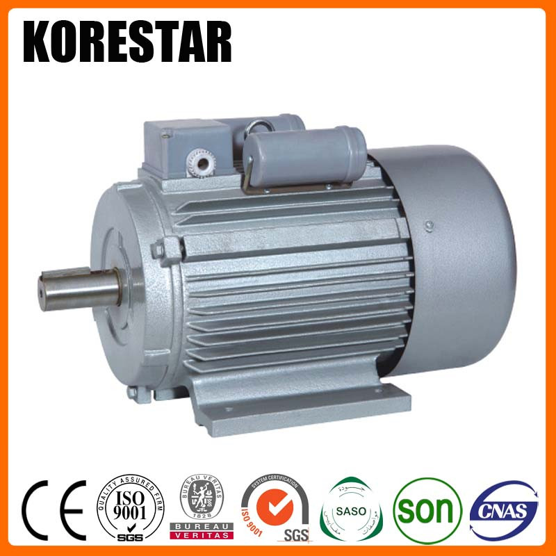 Korestar YL132S1-4 3.7KW 5HP AC Small Induction electric 120 volt motor