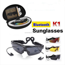 Smart Sunglasses Smart Touch Wireless Bluetooth Connection Stereo Headsets Earphone with 3 lens for All phone new Christmas gift