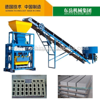 Cheap QT40-1 semi automatic brick molding press machine