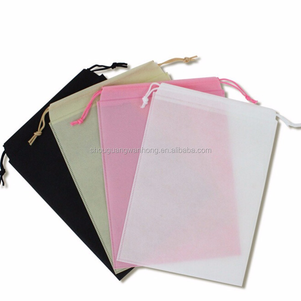 Cheap wholesale waterproof non woven drawstring bag