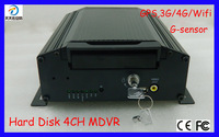 Hot Sales Vehicle MDVR with 4G GPS ( support all mobile provider ) , Stable power supply , easy to install