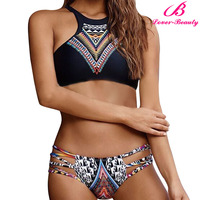 Lover-Beauty New Design Open Hot Sexyi Photo Image Bikini Swimwear NO MOQ