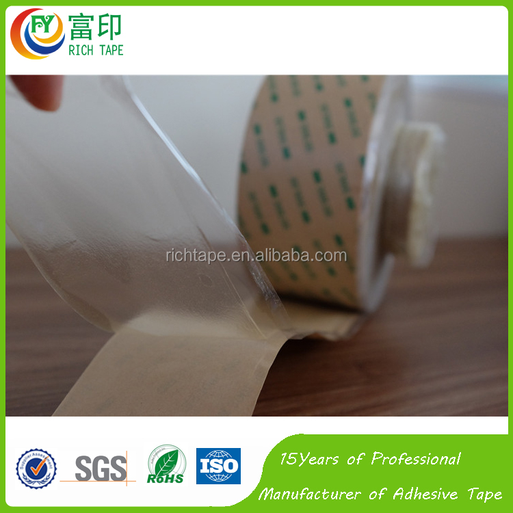 Transparent PET/PVC Adhesive Tape