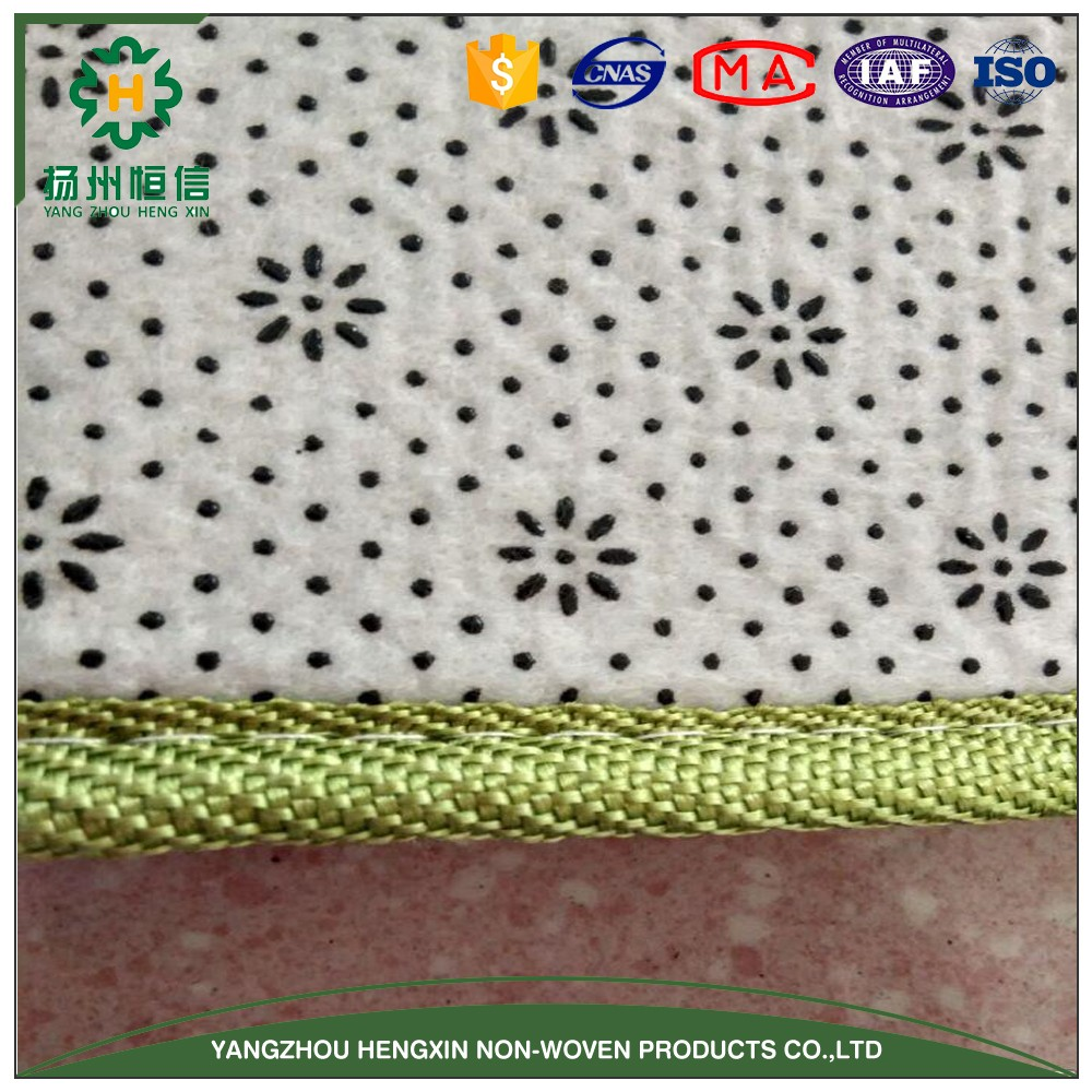 Breathable, eco-friendly anti-slipping carpet backing fabric