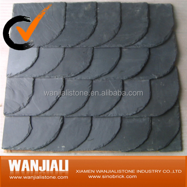 Culture stone slate roofing tiles