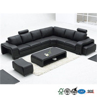 Hot selling genuine leather sofa from Guangdong